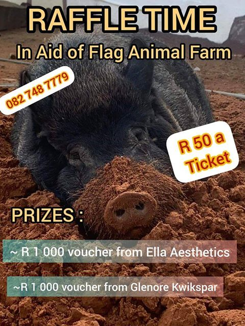 flag animal farm raffle
